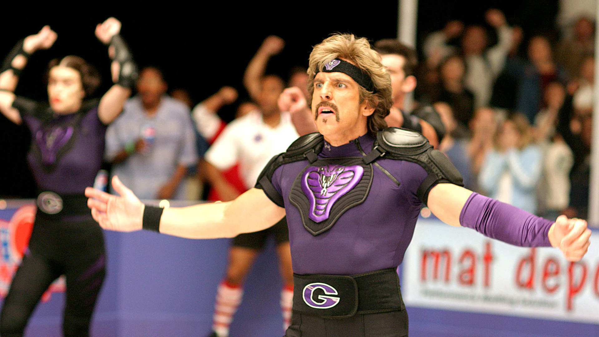 Ben Stiller in Dodgeball.