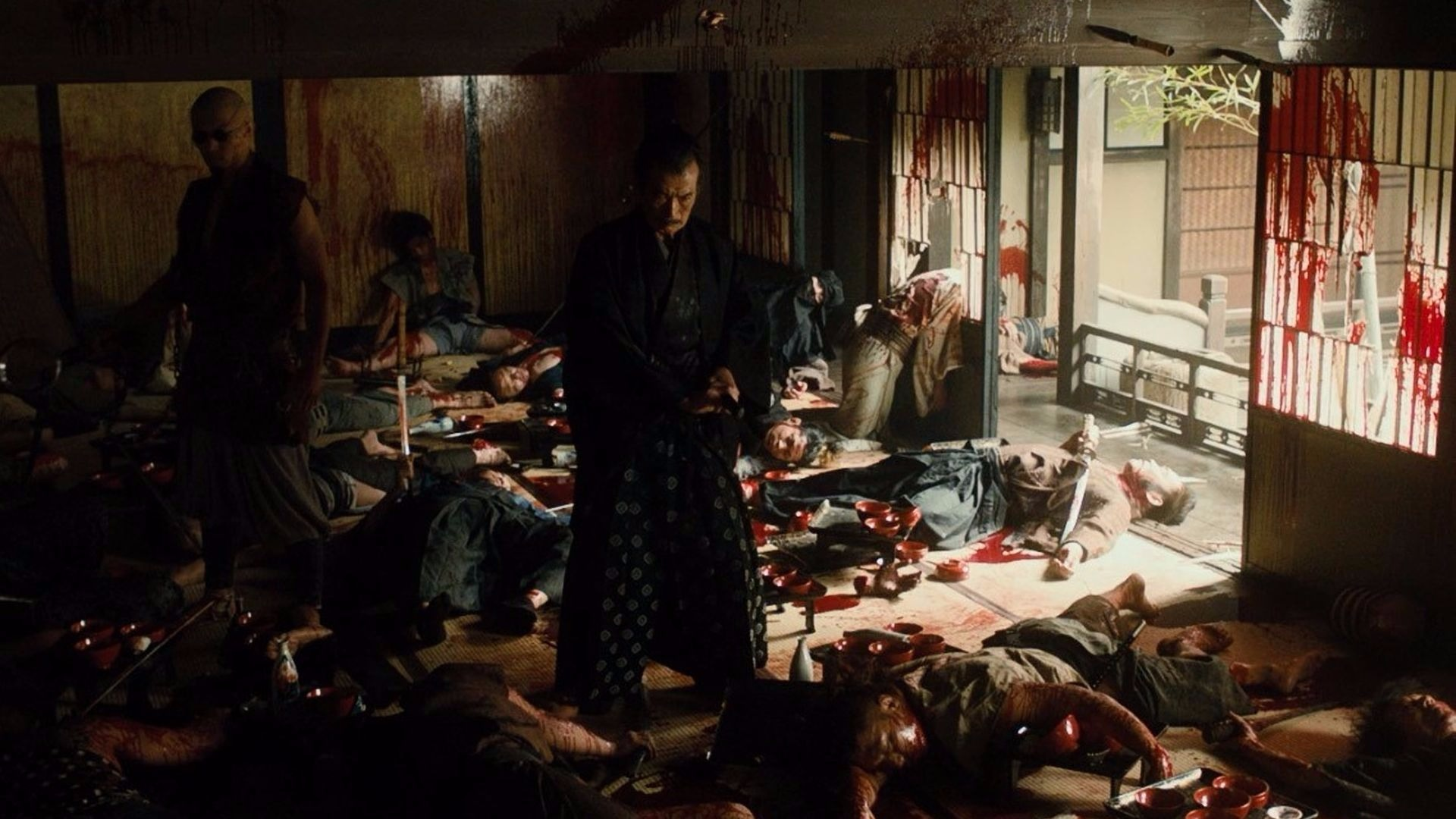 A scene from Blade of the Immortal.