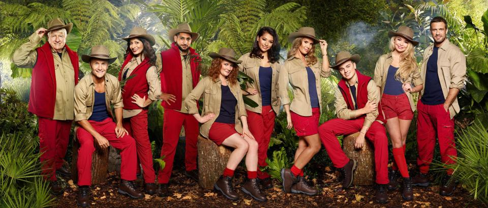 I'm A Celebrity... Get Me Out Of Here! the 2017 line-up.