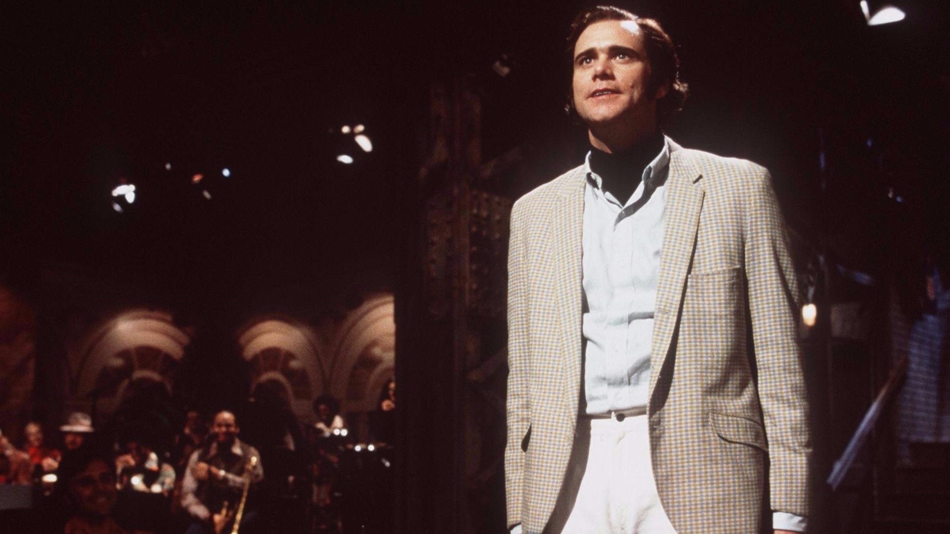 Jim Carrey in Man On The Moon.