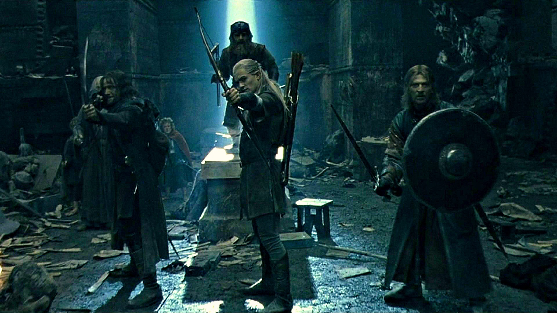 The Lord Of The Rings gang.