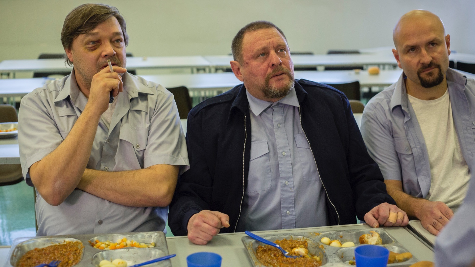 Shaun Ryder in Rise of the Footsoldier 3.