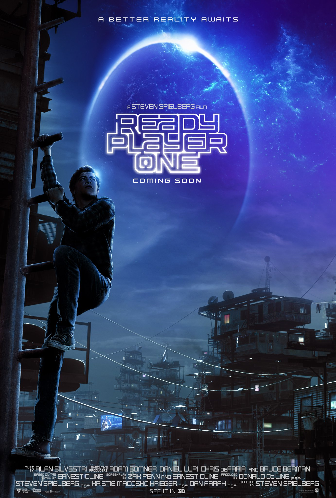 The Ready Player One poster.