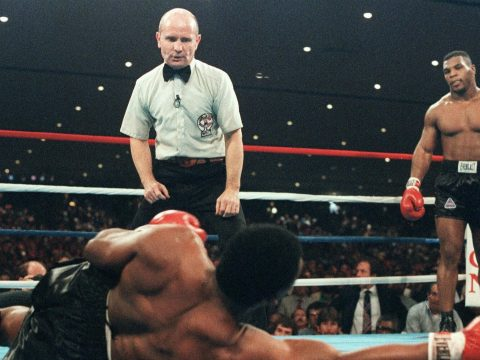 Mike Tyson in his boxing prime.