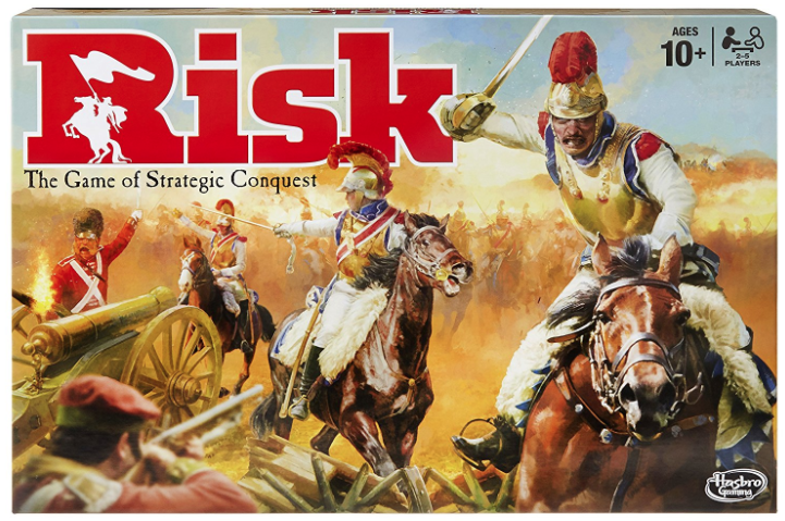 The board game Risk.