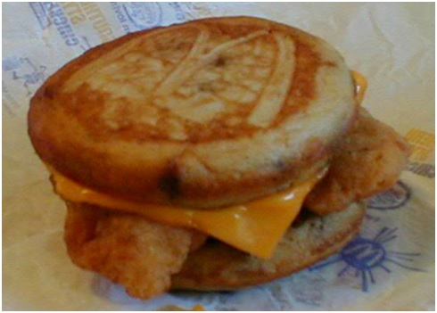 The Chicken McGriddle.