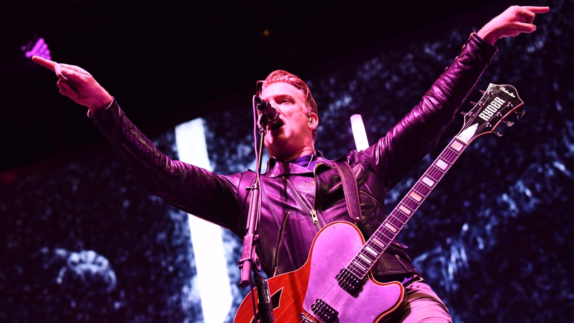 Josh Homme from Queens of the Stone Age.