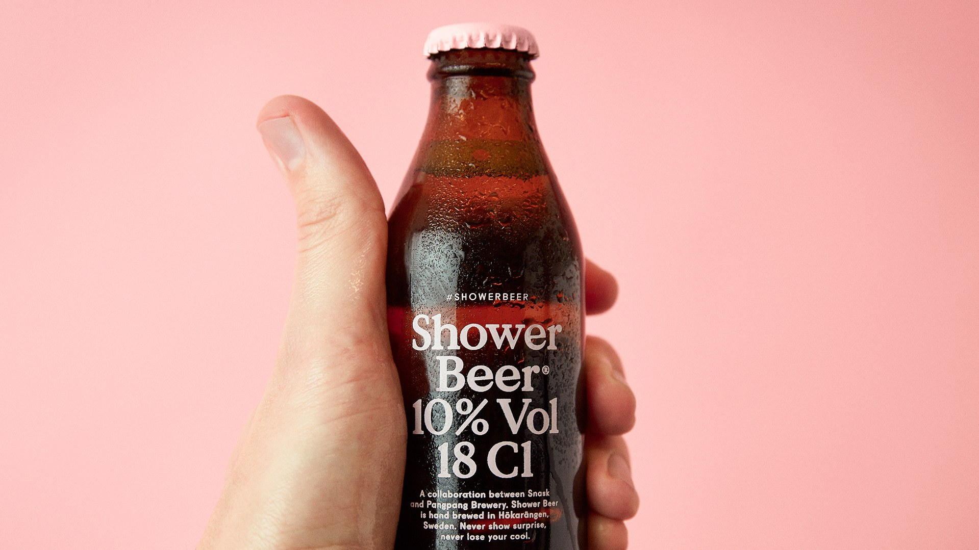 The Shower Beer.