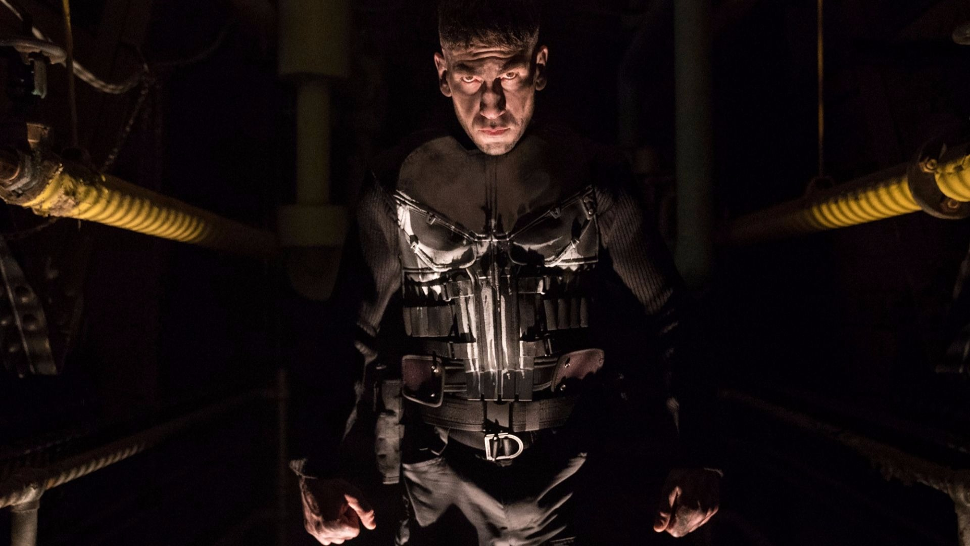 Jon Bernthal as The Punisher.