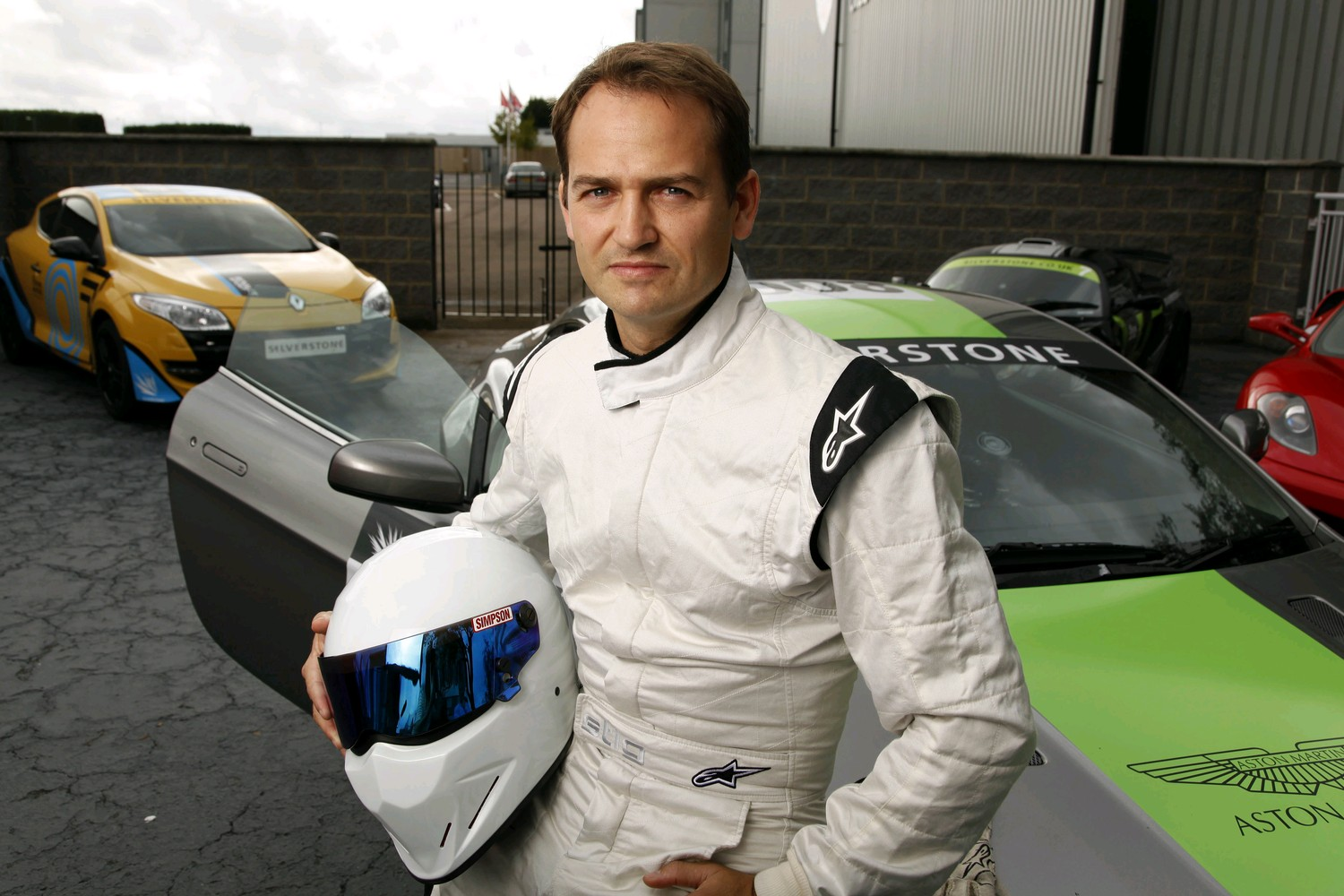Ben Collins formerly The Stig from Top Gear.