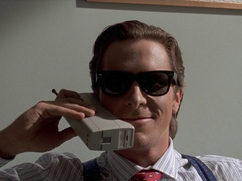 Christian Bale in American Psycho.