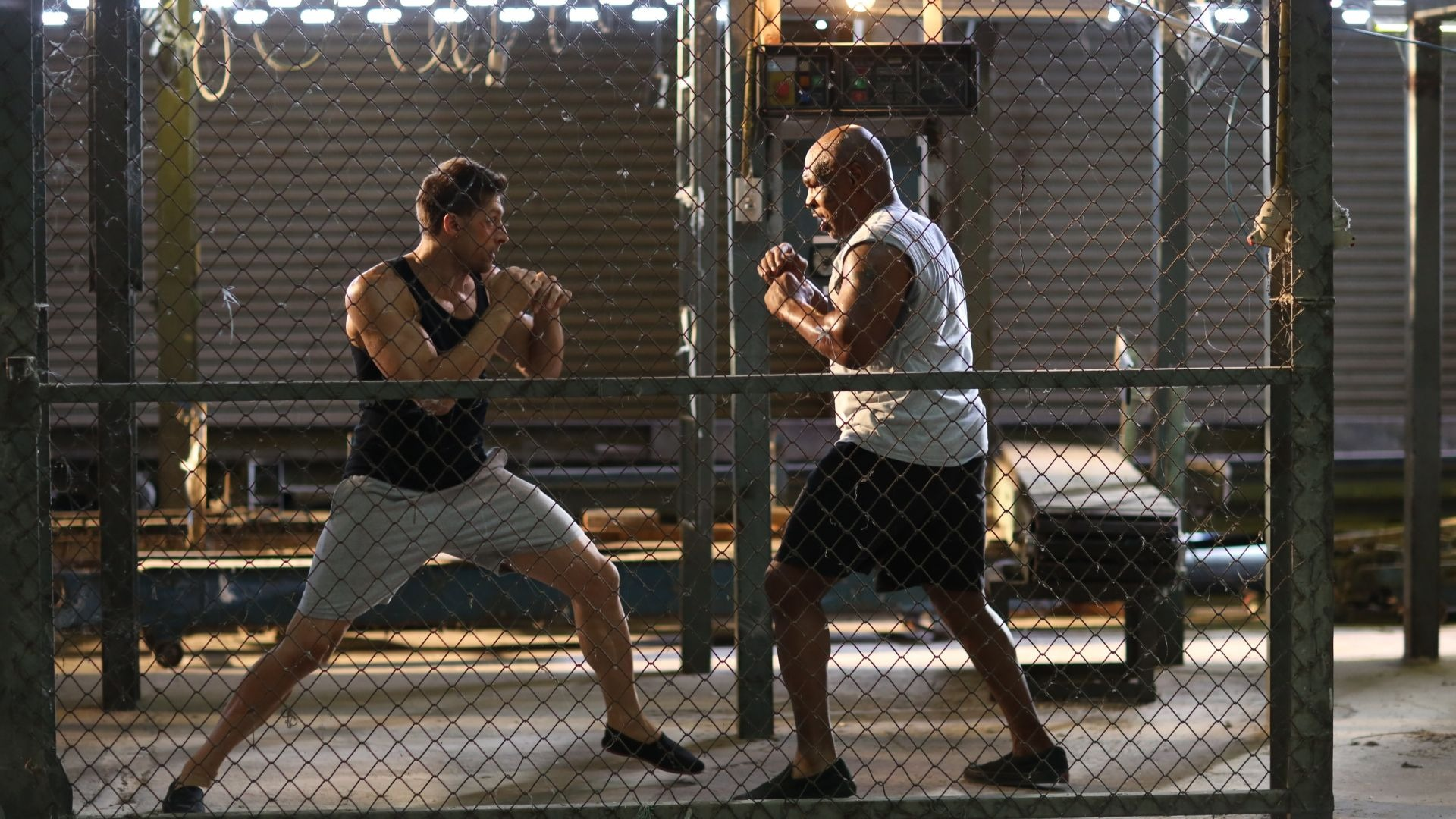 Mike Tyson in Kickboxer: Retaliation.