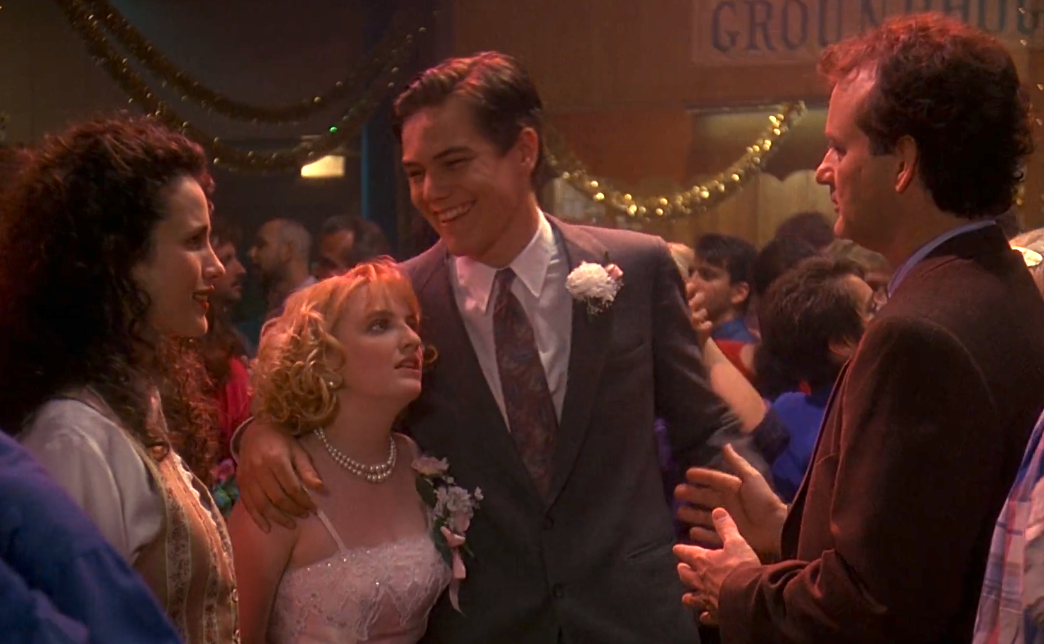 Michael Shannon in Groundhog Day.