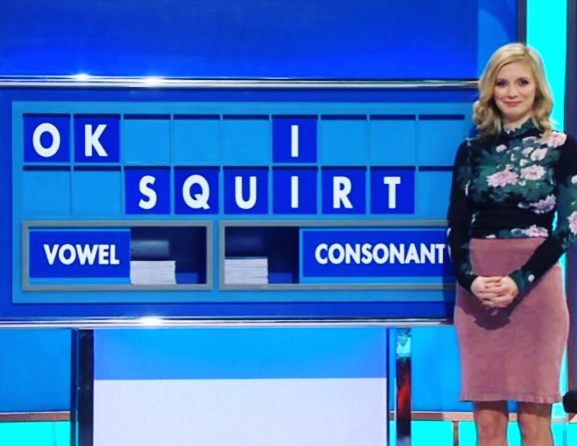 Rachel Riley on Countdown.