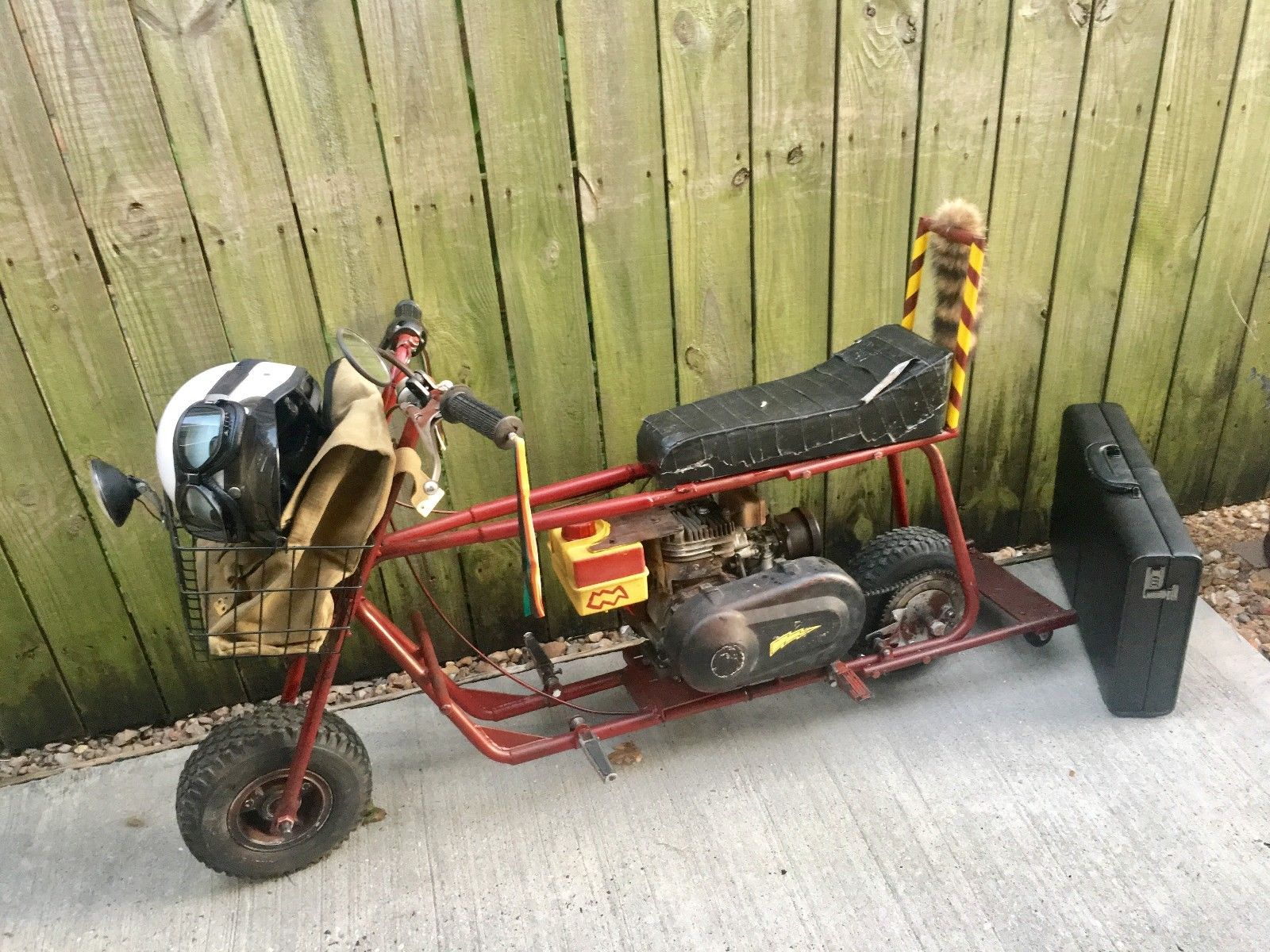 The Dumb and Dumber bike on eBay.