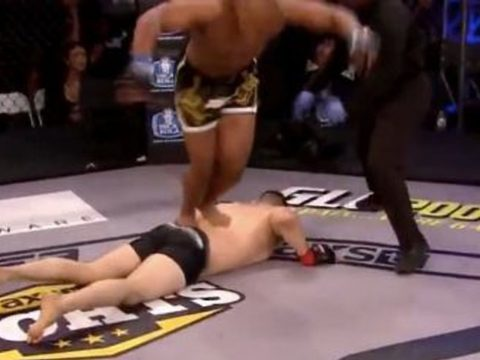 An instant disqualification from the world of MMA.