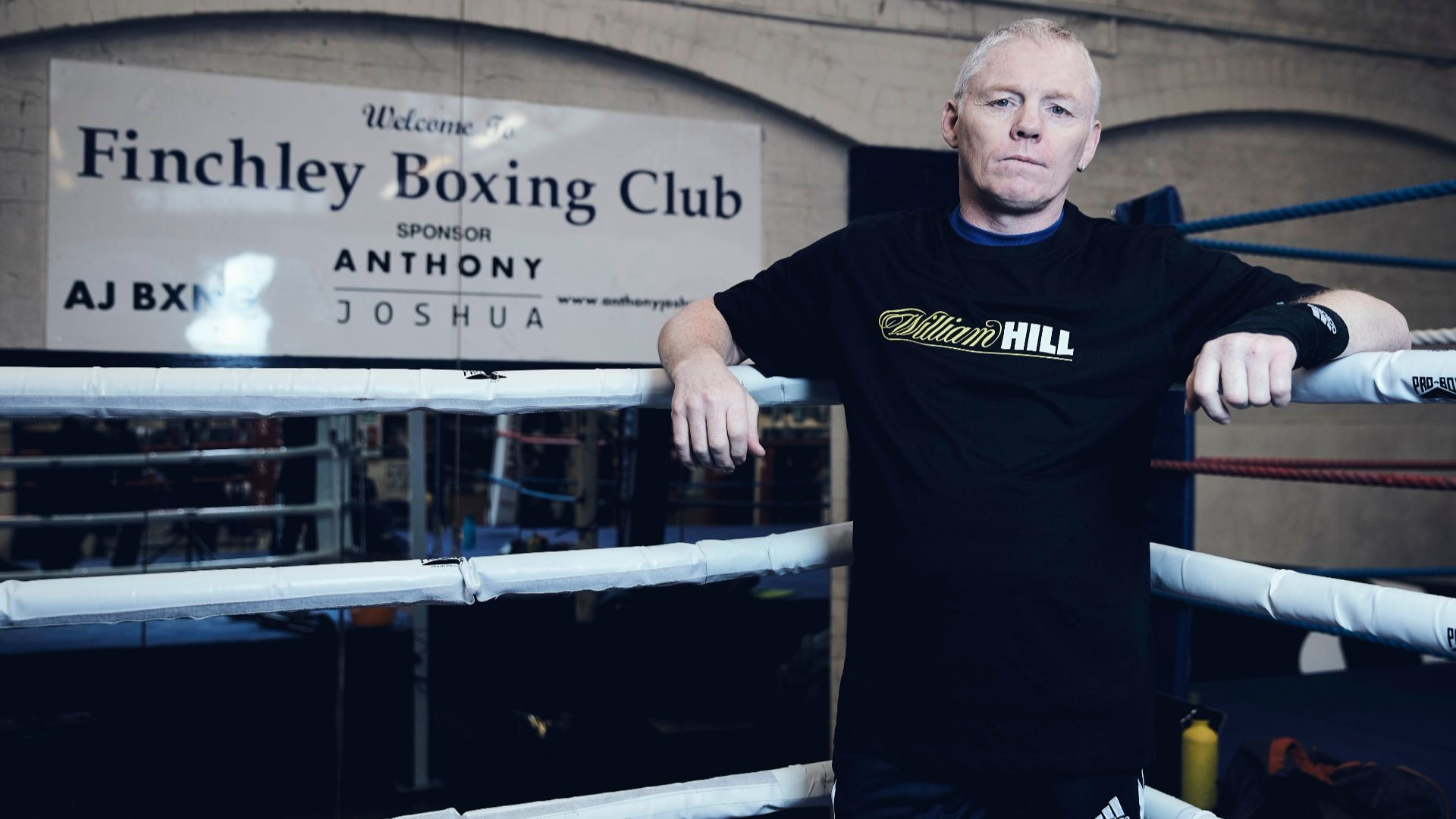 Anthony Joshua's first trainer Sean Murphy.