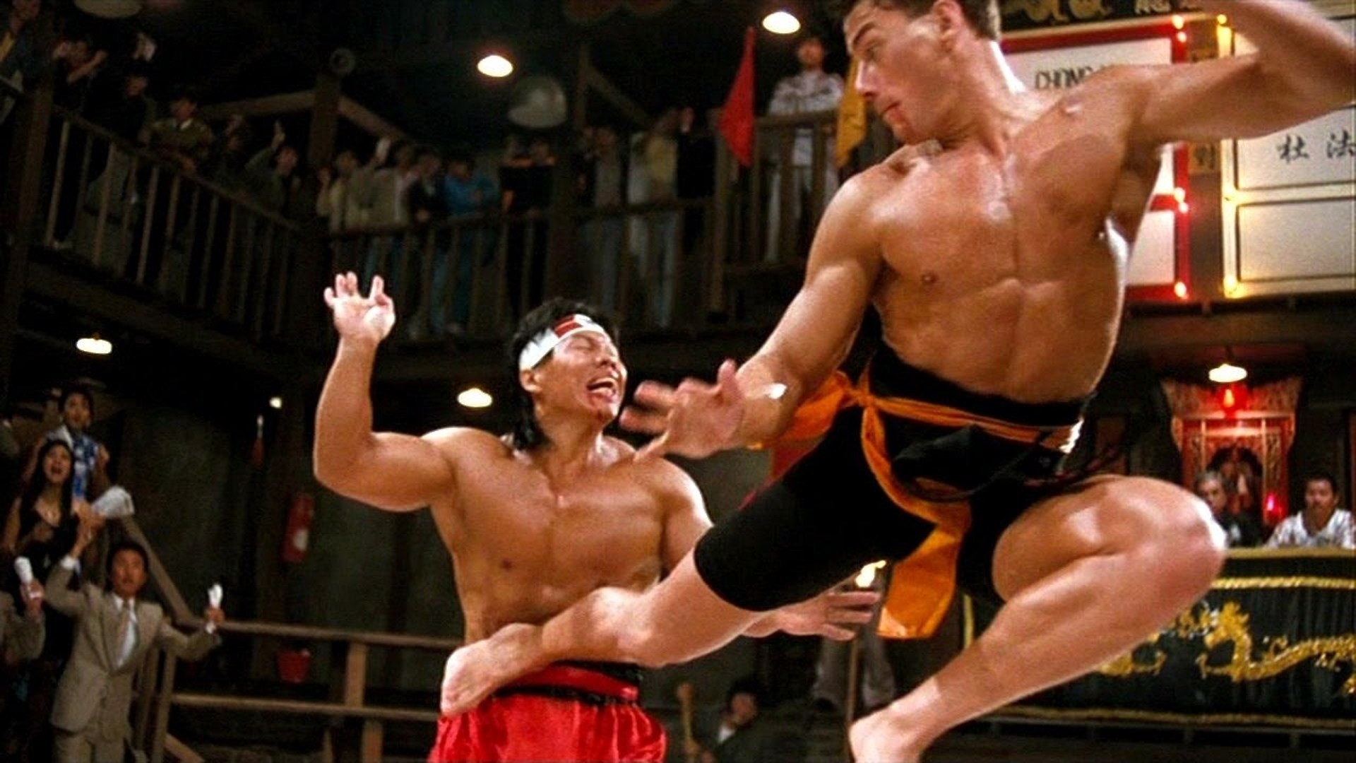 Jean-Claude Van Damme in Bloodsport.