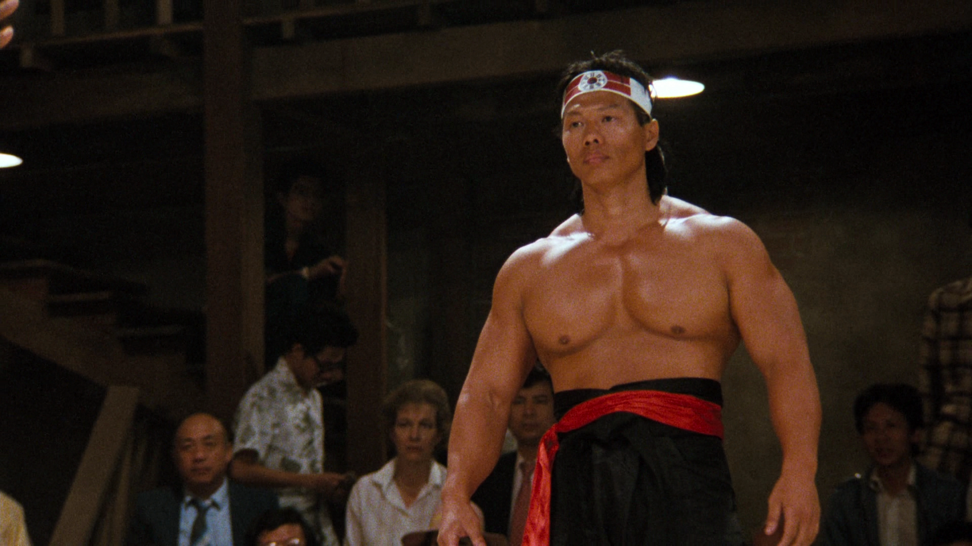Chong Li in Bloodsport.