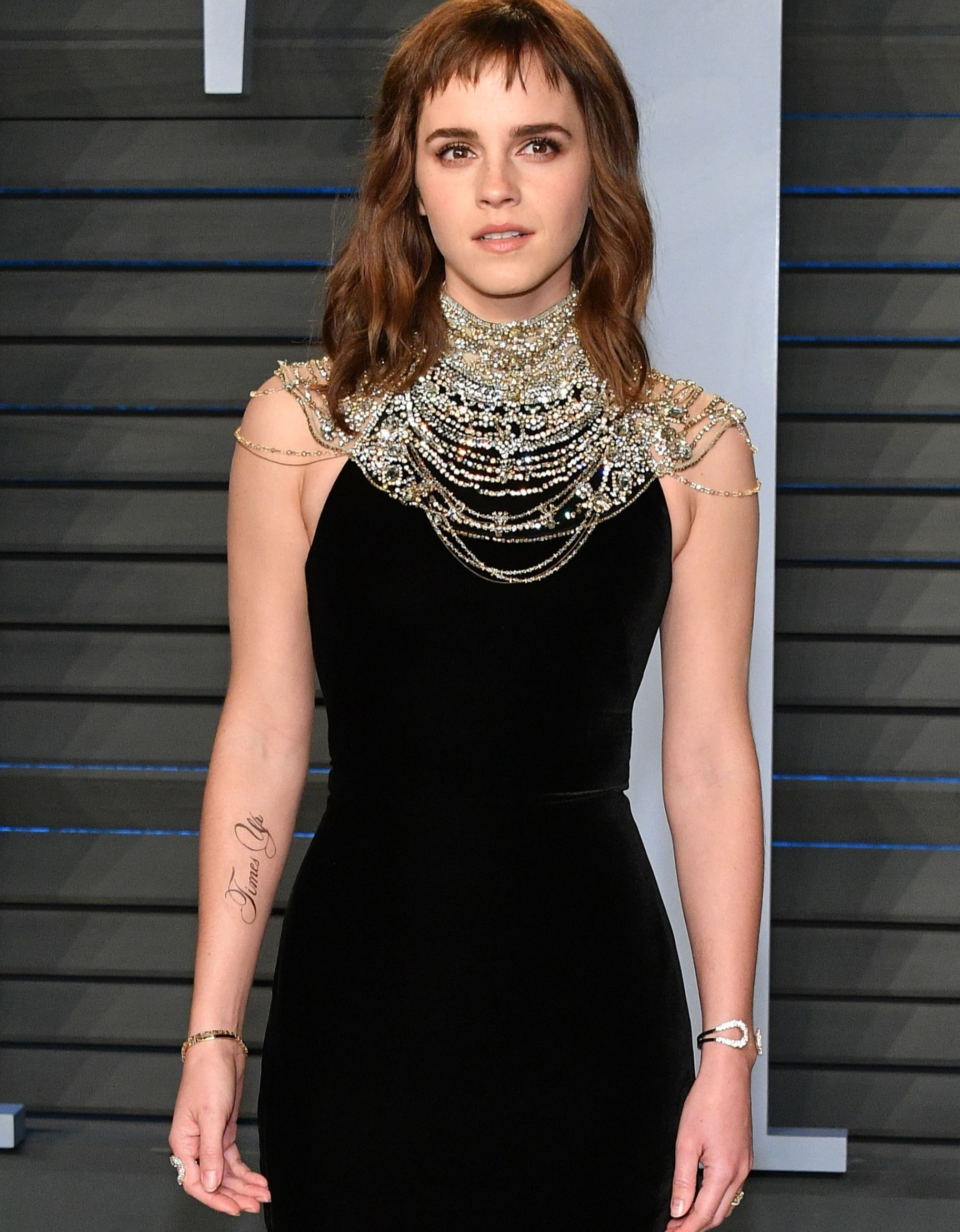 Emma Watson and her new tattoo.