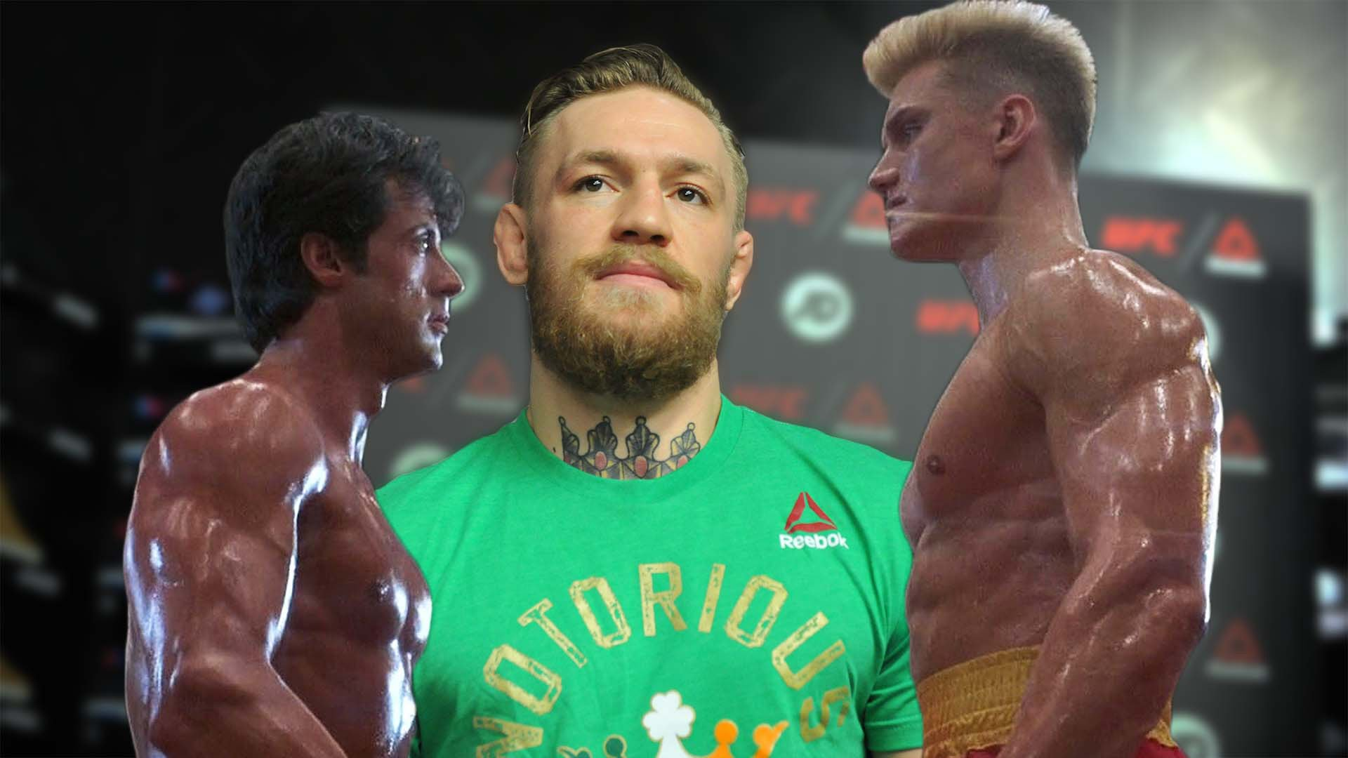 Conor McGregor wants to replicate Rocky IV.