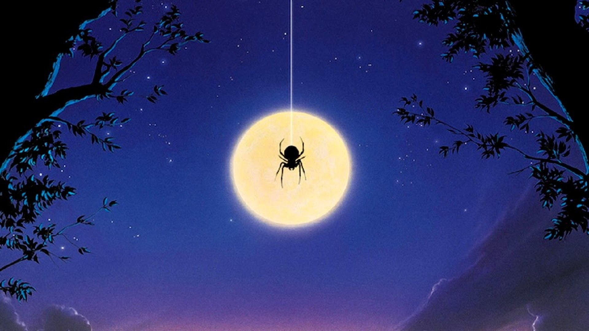 The poster for arachnophobia.