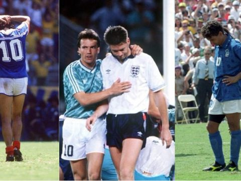 The most infamous World Cup penalty misses.