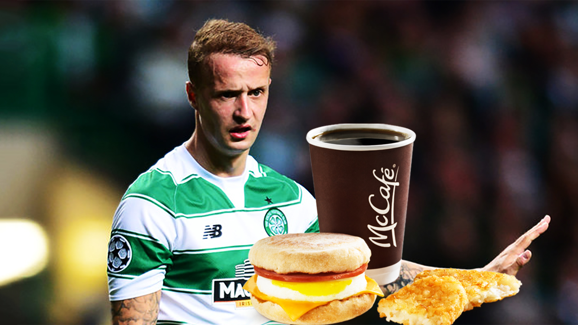 The Leigh Griffiths diet.