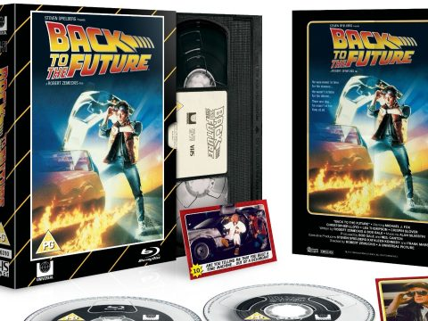 The Back To The Future Blu-ray and DVD set.