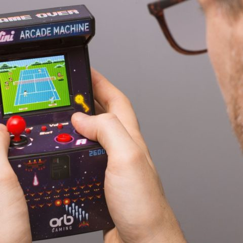 This 240-games-in-one mini arcade machine is the ultimate 8-bit nostalgia fest.