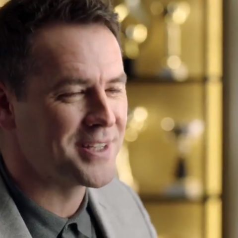 Michael Owen and Joe Cole star in excruciatingly awkward Huawei advert.