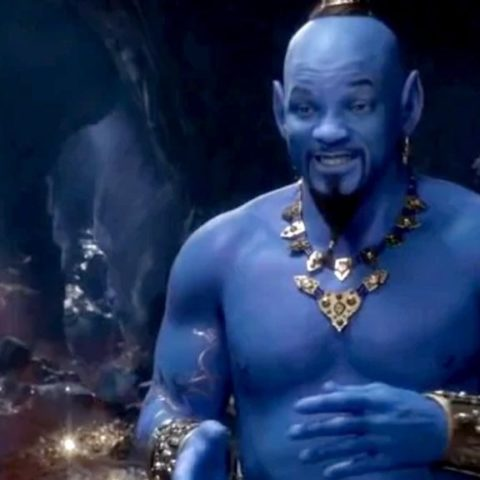 New Aladdin trailer introduces Will Smith's Genie and fans aren't happy.