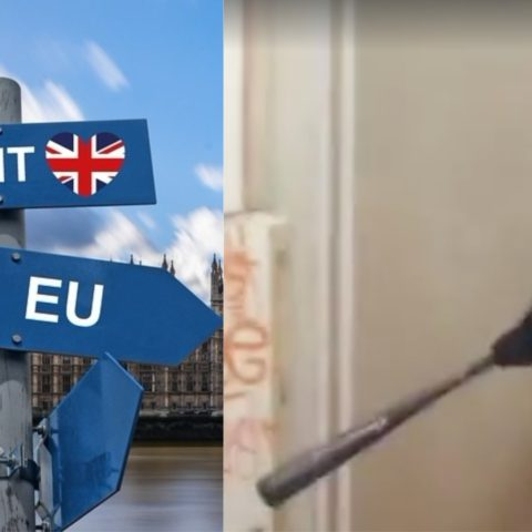 A 'Brexit Rage Room' launches for people stressed out by the ongoing chaos