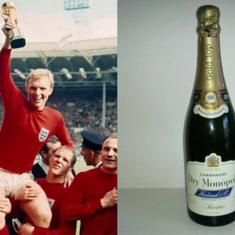 Bottle of 1966 World Cup champagne goes up for sale.