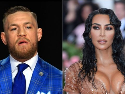 Conor McGregor revealed to be a distant relative of Kim Kardashian.